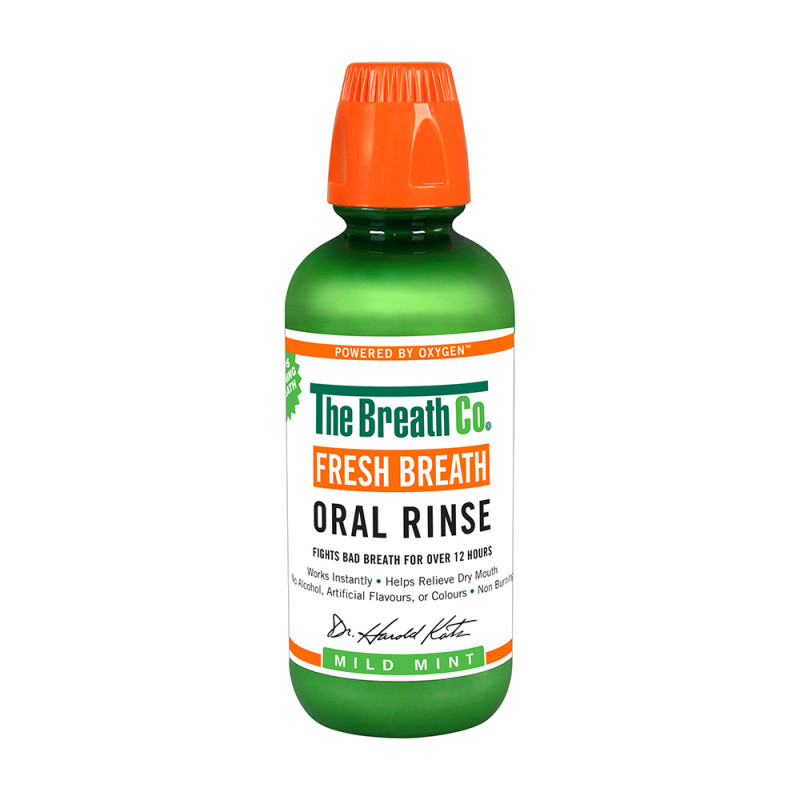 The Breath Co Fresh Breath Oral Rinse Mild Mint   Chemist Direct