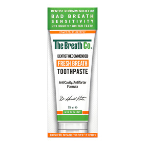 The Breath Co Fresh Breath Toothpaste Mild Mint