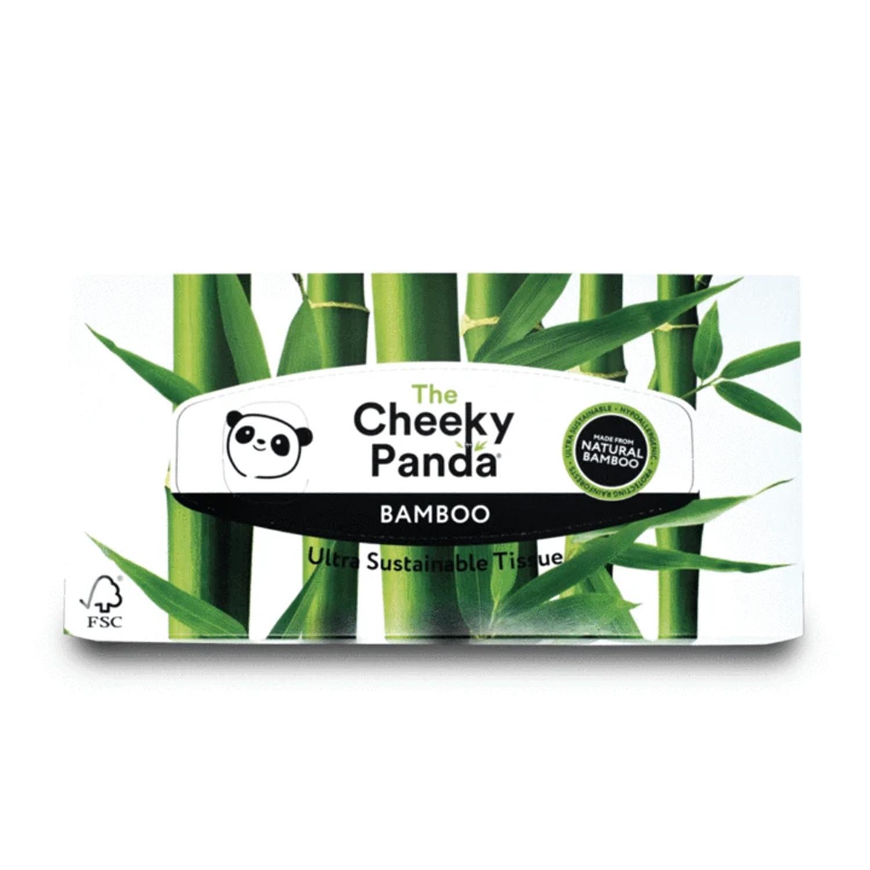 The Cheeky Panda Flat Box Facial Tissues