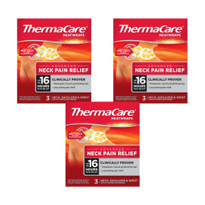 Thermacare Neck, Shoulder & Wrist - 9 Heat Wraps
