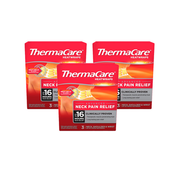Thermacare Neck, Shoulder & Wrist Triple Pack