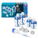 Tommee Tippee Advanced Anti- Colic Bottle Starter Kit Blue