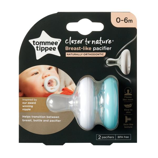 Tommee Tippee Breast Like Pacifier 0-6m