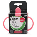 Tommee Tippee Essentials First Cup 4months Pink