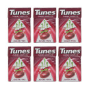 Tunes Cherry Menthol Sugar Free Sweets - 6 Pack