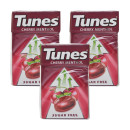 Tunes Sugar Free Cherry Flavour Menthol Sweets Multipack 6x37G