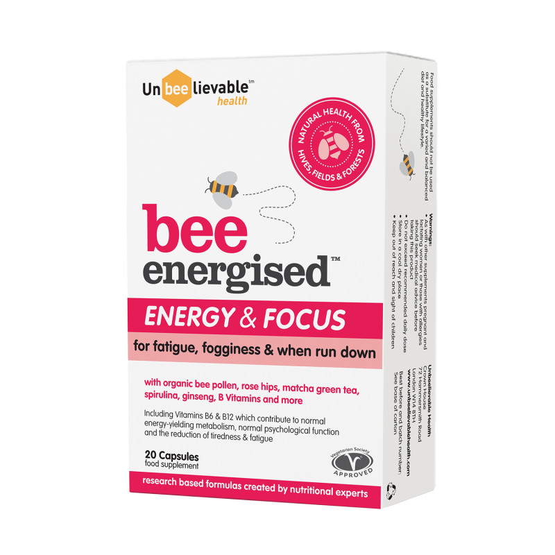 Unbeelievable Health Bee Energised Energy Focus 0 Chemist Direct