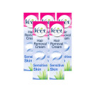 Veet 5 Minute Hair Removal Cream Sensitive Skin