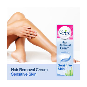 Veet 5 Minute Hair Removal Cream for Sensitive Skin