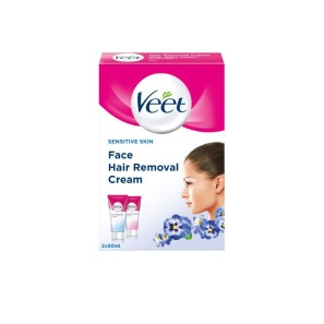 Veet Hair Removal Face Kit Sensitive Skin