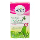 Veet Natural Inspirations Wax Strips For Legs & Body