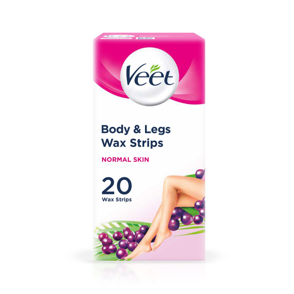 Veet Ready To Use Wax Strips For Normal Skin