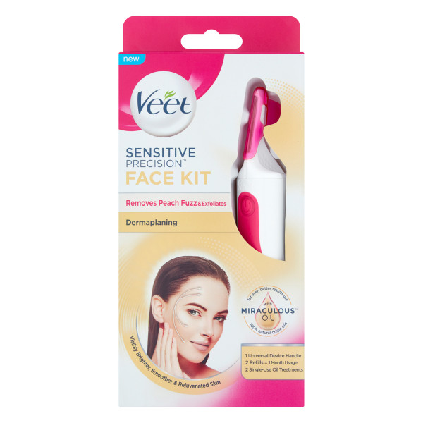 Veet Sensitive Precision Dermplaning Face Kit