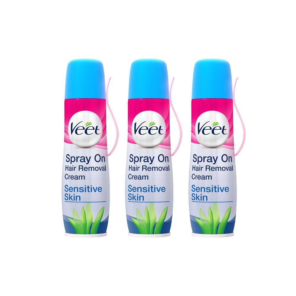 Veet Spray On Cream Sensitive