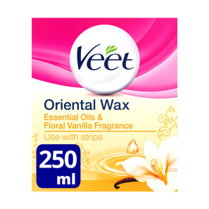 Veet Warm Wax Jar & Essential Oil