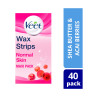 Veet Wax Strips Legs Normal