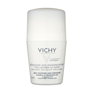 Vichy Deodorant 48 Hour Roll On Sensitive Skin