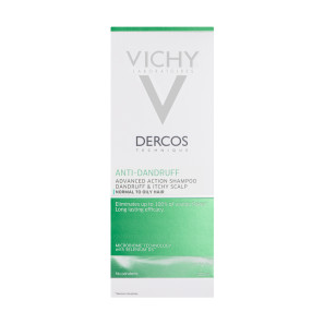 Vichy Dercos Anti Dandruff Shampoo for Oily Itchy Scalp