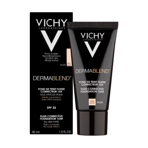 Vichy Dermablend Corrective Foundation Shade 25 Nude with SPF35