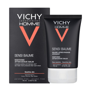 Vichy Homme Aftershave Balm for Sensitive Skin