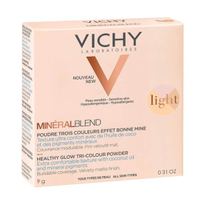 Vichy Mineralblend Tri-Colour Light Powder