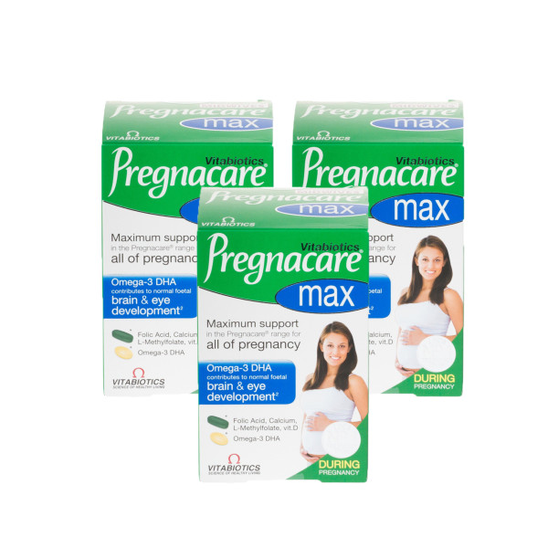 Vitabiotics Pregnacare Max Tablets Triple Pack