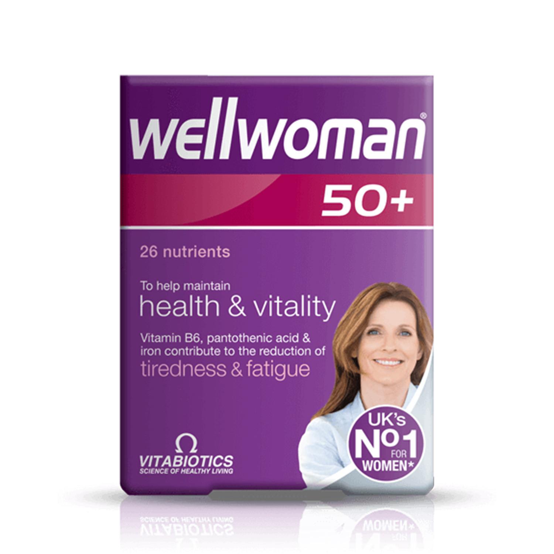 Vitabiotics Wellwoman 50+