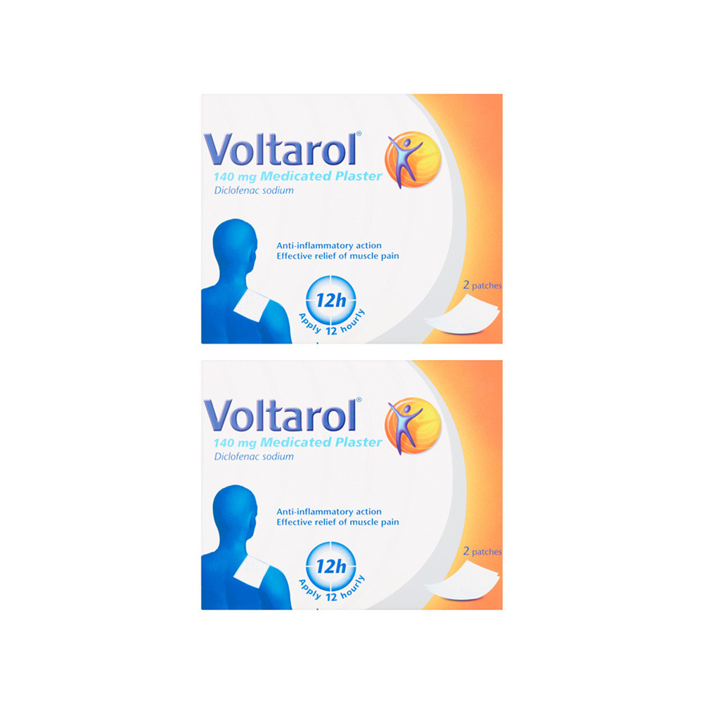 Voltarol 140mg Plaster Relief Plasters x2