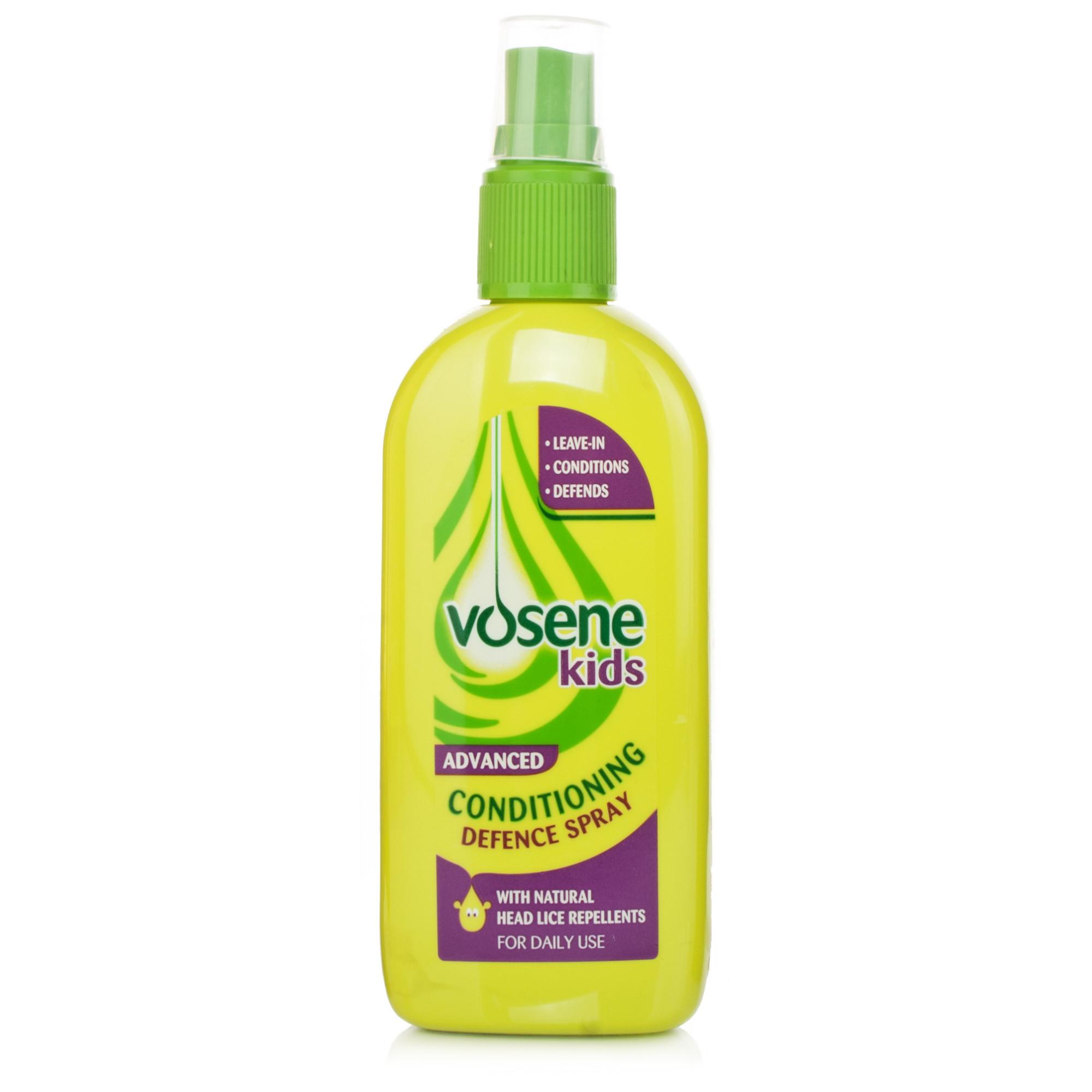 Vosene Kids 3 in 1 Leave-In-Spray Head Lice Repellent