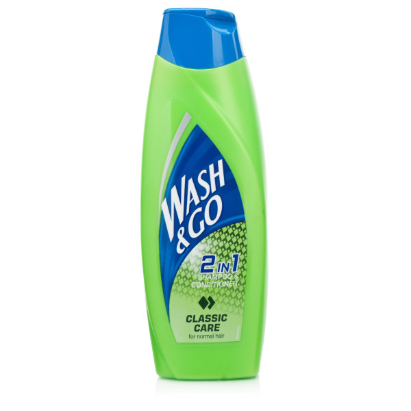 Wash & Go Classic Care 2 in 1 Shampoo & Conditioner
