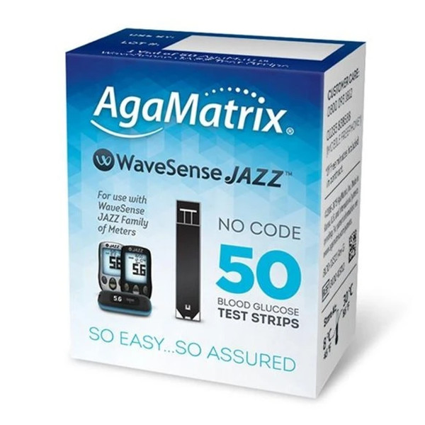 WaveSense Jazz Diabetes Test Strips