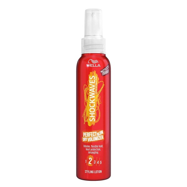Wella Shockwaves Blow Dry Volumiser Styling Lotion 150ml