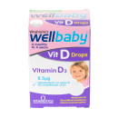 Vitabiotics Wellbaby Vitamin D-Drops 4 Months To 4 Years