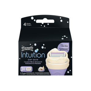 Wilkinson Sword Intuition Dry Skin Blades 3s