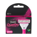 Wilkinson Sword Quattro Ladies 3 Blade Pack