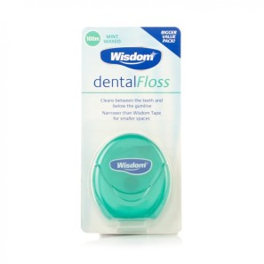 Wisdom Mint Waxed Dental Floss