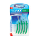 Wisdom Pro Flex Interdental Brushes 0.8mm