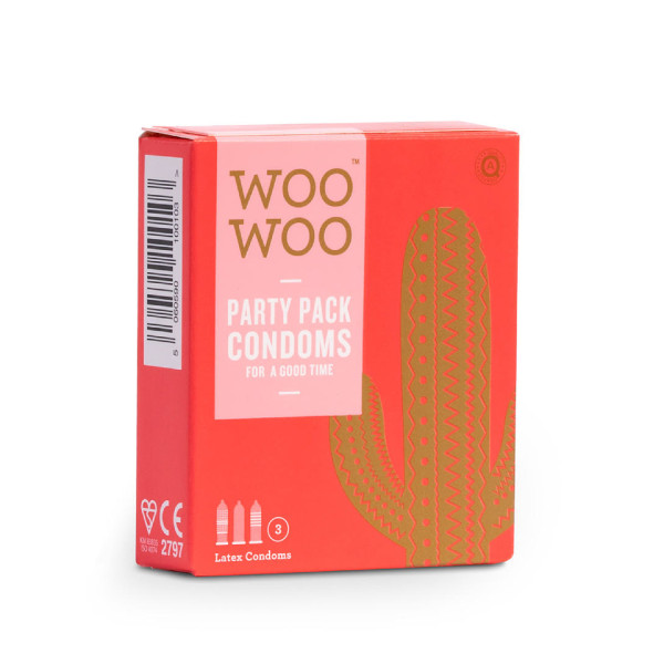 WooWoo Protect It! Party Pack Condoms