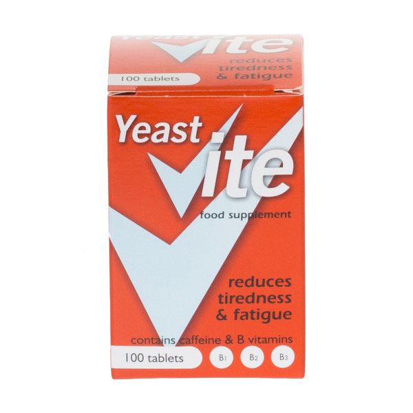 Yeast Vite Food Supplement Tablets