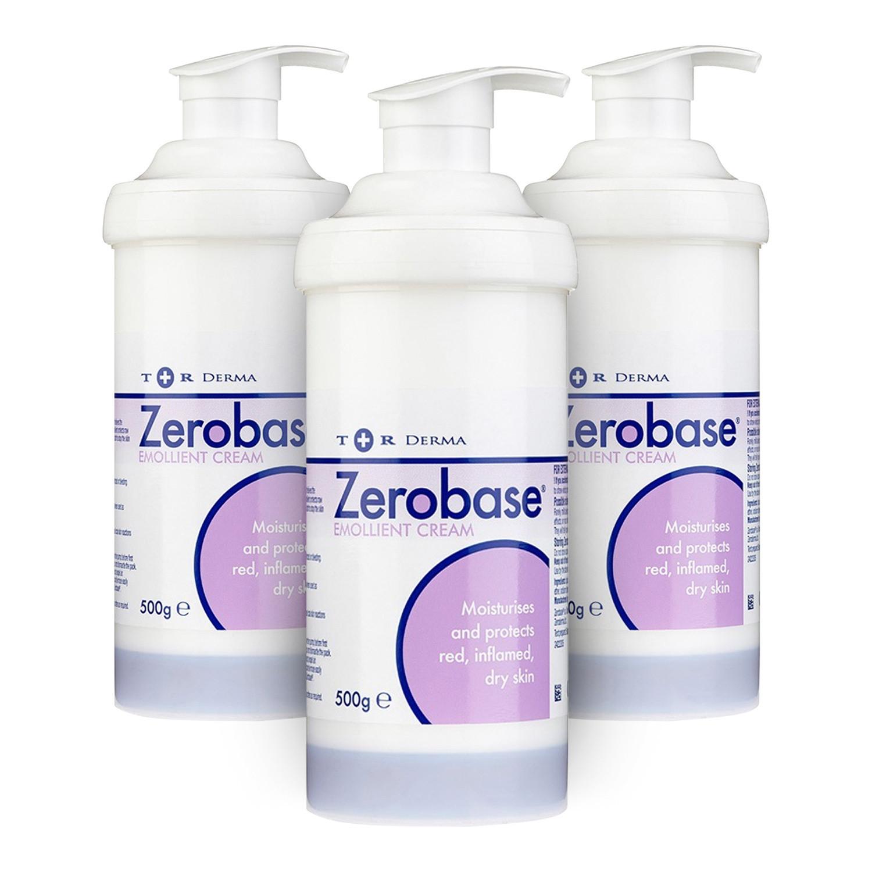 Zerobase Emollient Cream - 3 Pack
