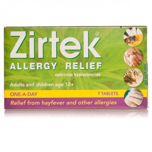 ZirtekAllergy Relief Tablets