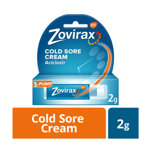 Zovirax Cold Sore Cream Aciclovir 2g