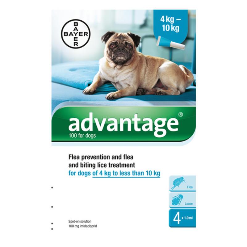 advantage flea treatment instructions