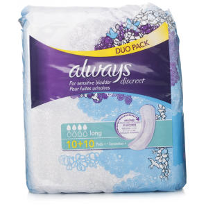 Always Discreet Long Pads Value Pack