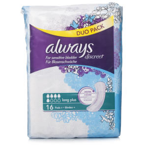 Always Discreet Long Plus Pads Value Pack
