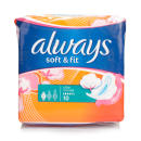 Always Soft & Fit Ultra Normal Pads
