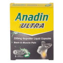 Anadin Ultra 200mg Liquid Capsules