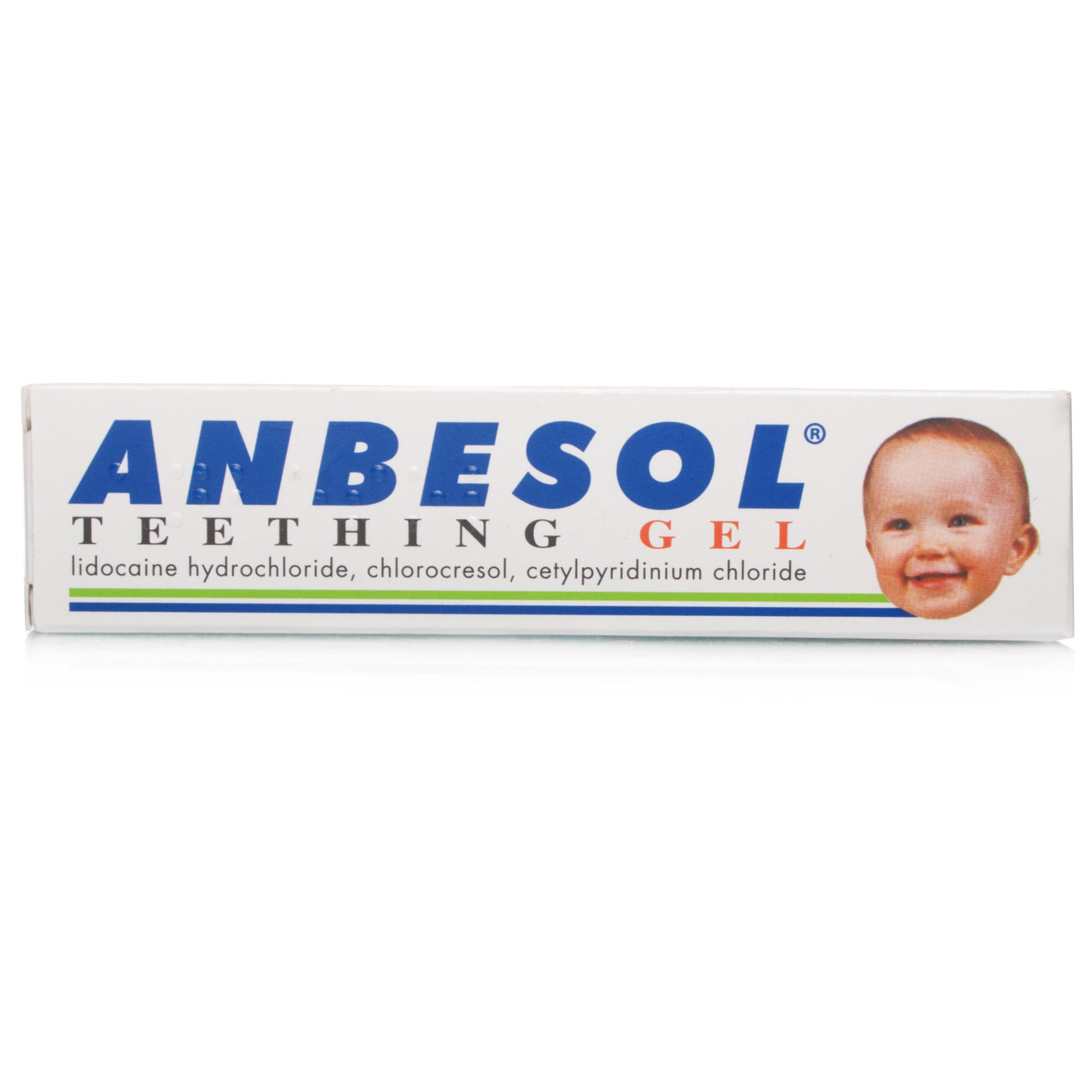 Click to view product details and reviews for Anbesol Teething Gel.