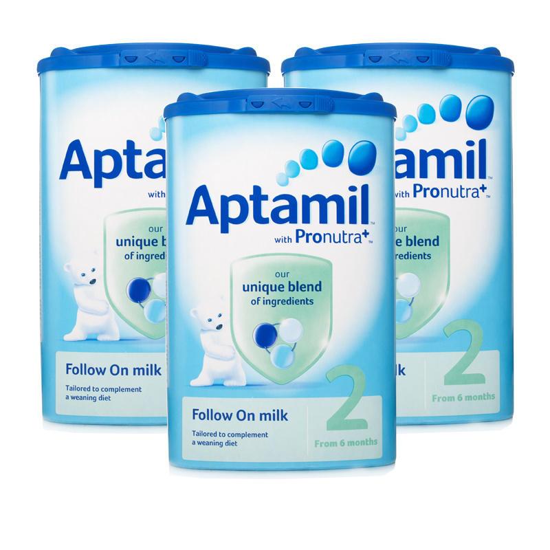 Aptamil Follow On Milk 6 month Formula Powder  Triple Pack