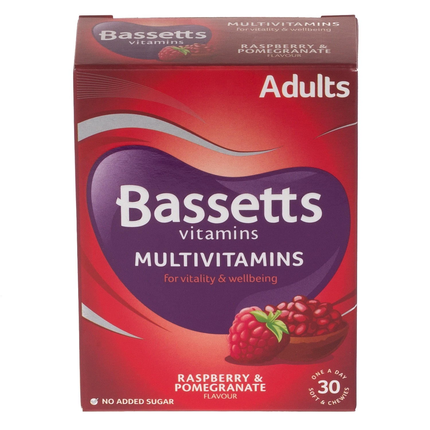 Bassetts Adult Multivitamins Raspberry & Pomegranate Flavour